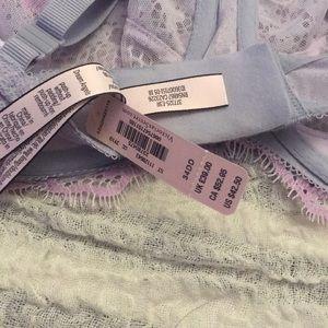 Victoria's Secret Intimates & Sleepwear - Victoria's Secret Purple Lace Dream Angels Bra